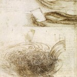 Leonardo-Da-Vinci-Studies-of-Water-passing-Obstacles-and-falling