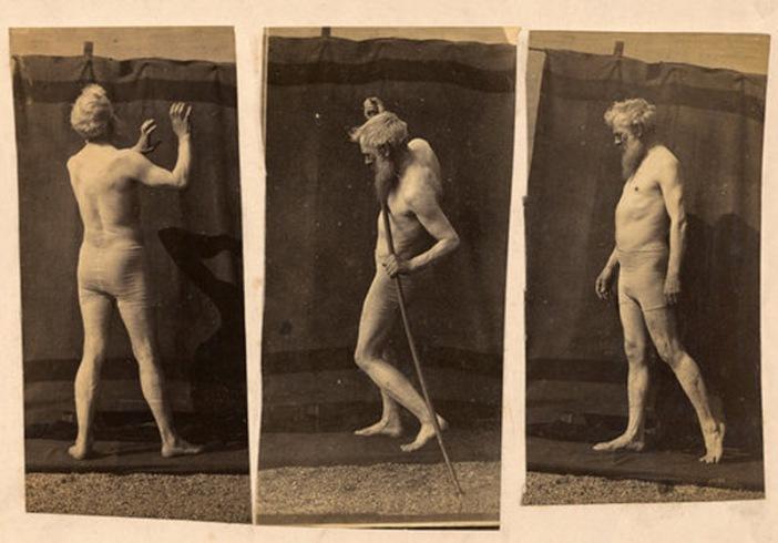 Eadweard Muybridge Self-Portrait 1885